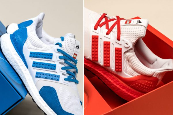 Adidas x Lego® UltraBoost DNA 4.0 Colors 3M Red Shock Blue