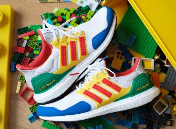 Adidas x Lego® UltraBoost DNA Multicolor 3M FZ3983 (couv)
