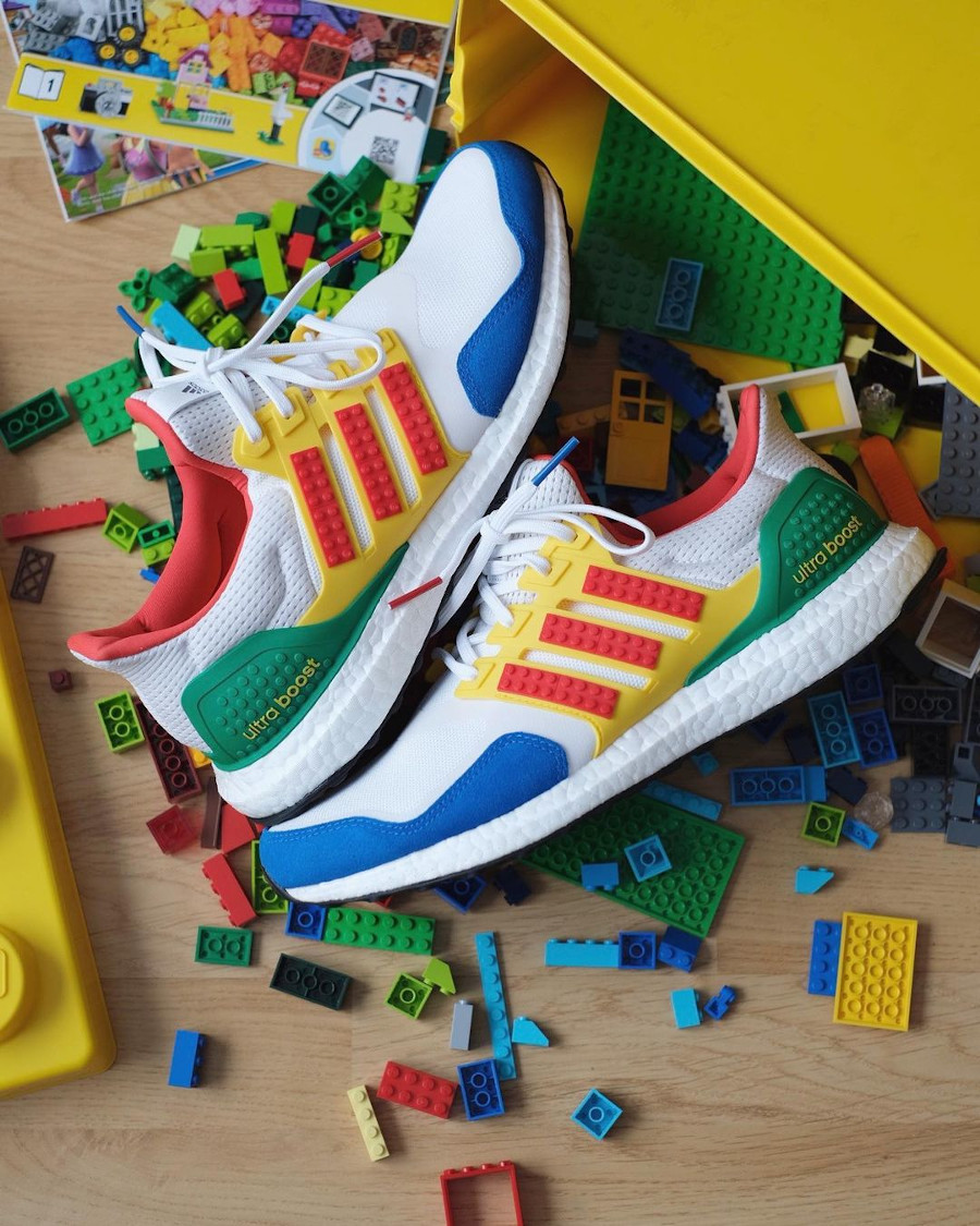 Adidas x Lego® UltraBoost DNA Multicolor 3M FZ3983