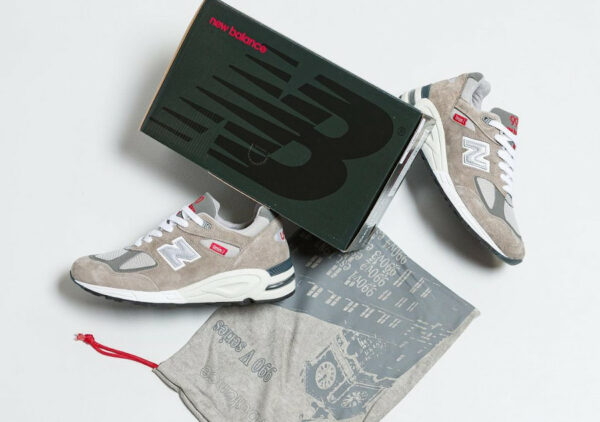 NB 990V2 Grey M990VS2 40th Anniversary (made in US) couv