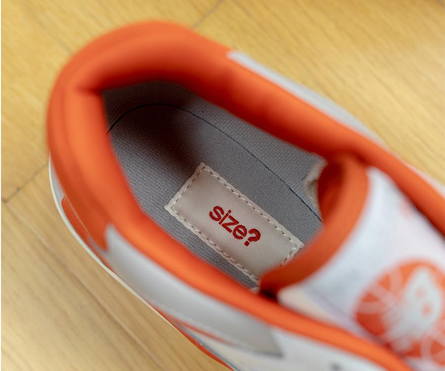 New Balance 550 Bold Orange Size