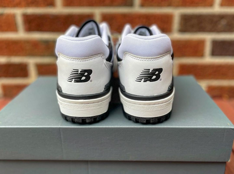 New Balance BB550 blanche et noire (4)