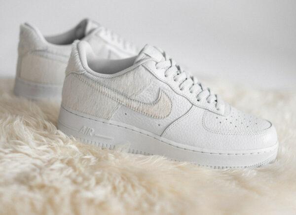 Nike Air Force 1 AF1 Pony Hair 2021 White Photon Dust