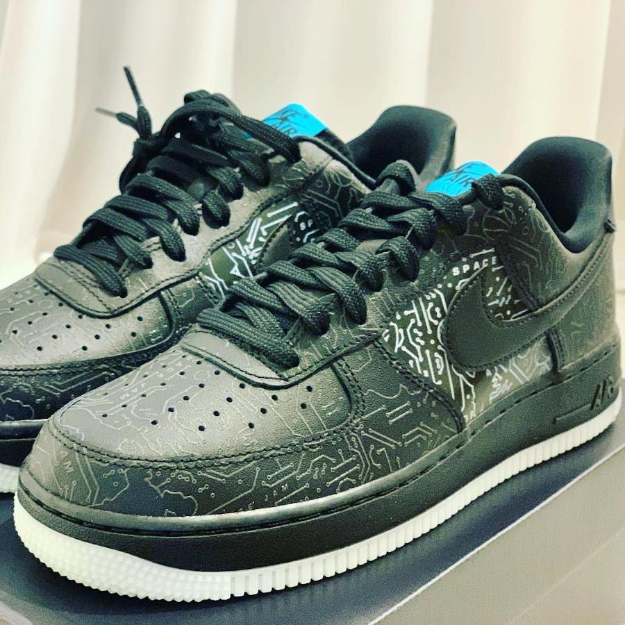 Nike Air Force 1 Low Black Spacejam 2 (1)