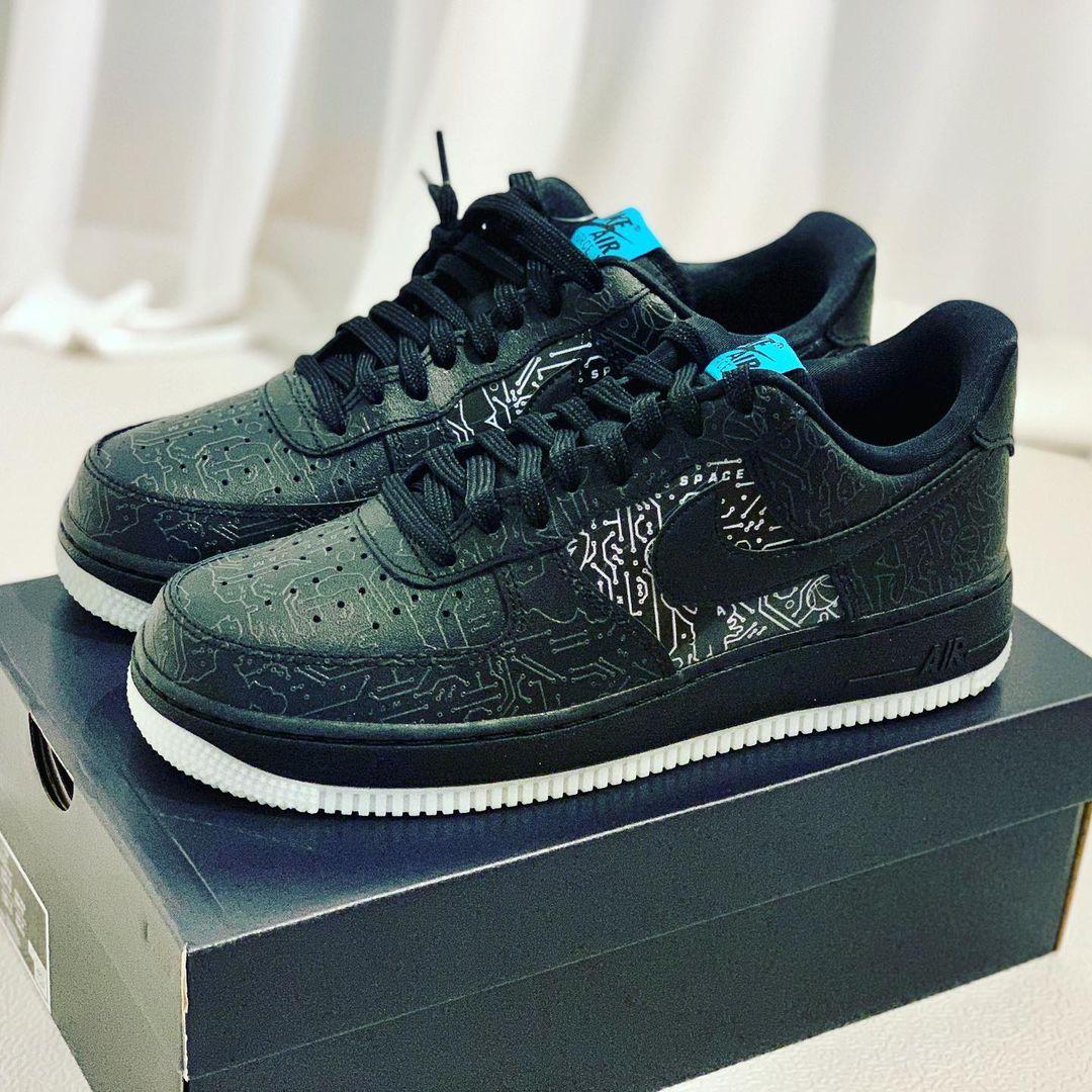 Nike Air Force 1 Low Black Spacejam 2 (2)