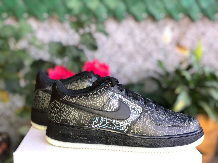 Nike Air Force 1 Low Black Spacejam 2 (3)