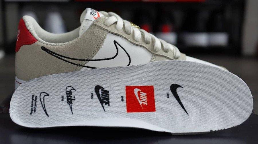 Nike Air Force One FU gris et blanche (1)