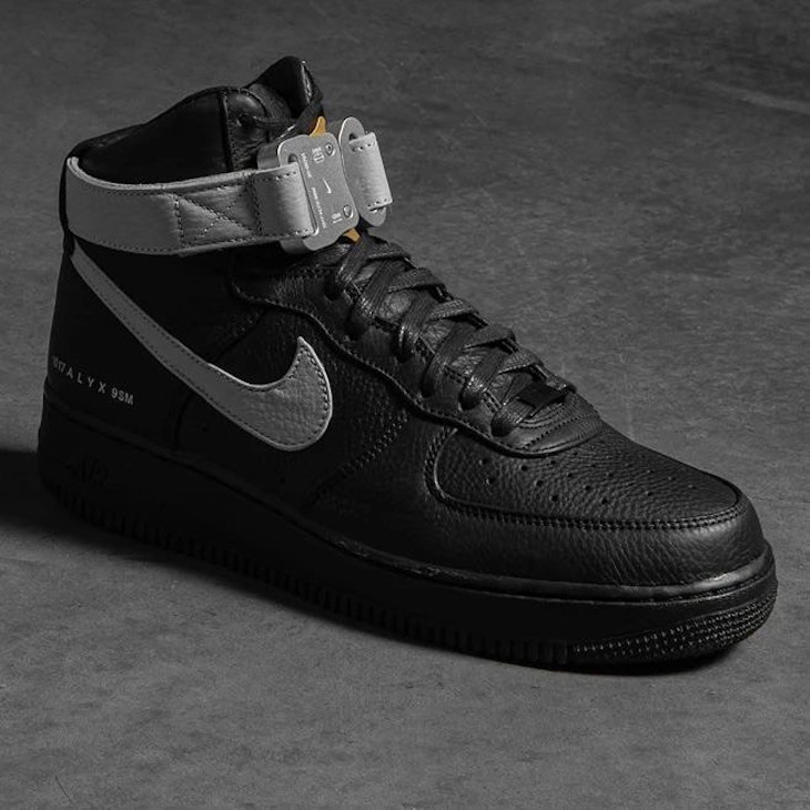 Nike Air Force One High Lux noire CQ4018-003 (1)