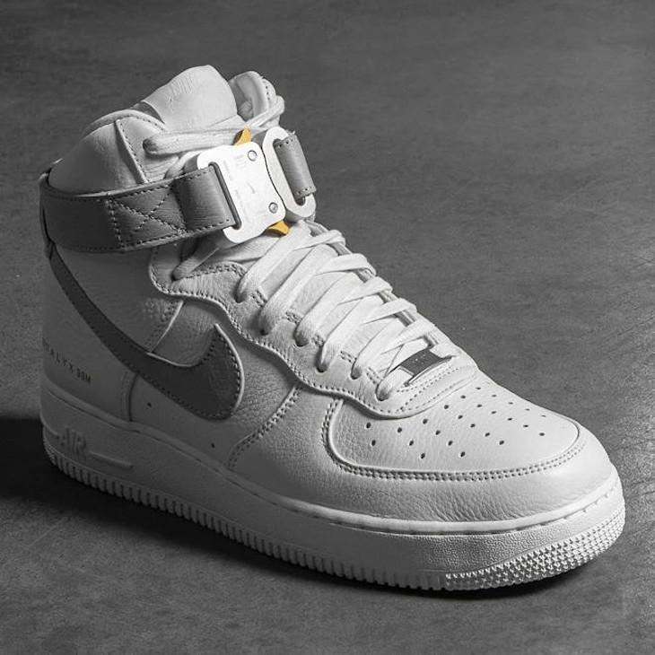 Nike Air Force One blanche et grise CQ4018-104 (1)
