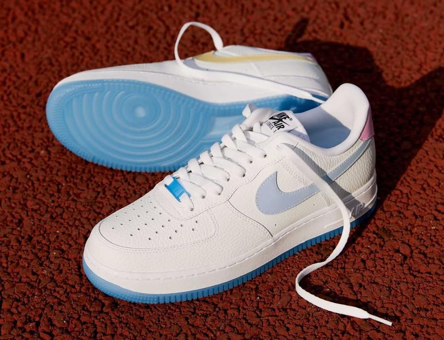 Nike Air Force One qui change de couleur 2021 (1)