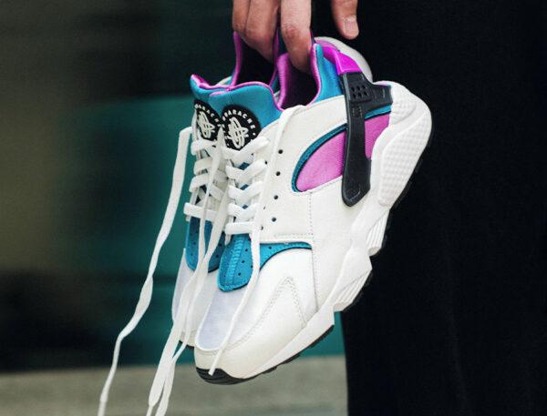 Nike Air Huarache OG Aquatone Deep Magenta 2021