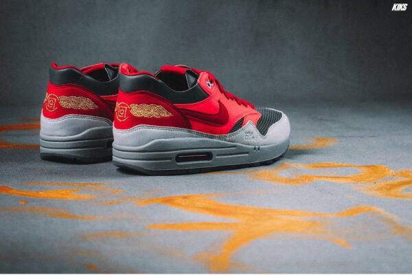Nike Air Max 87 ID Solar Red Edison Chen (1)