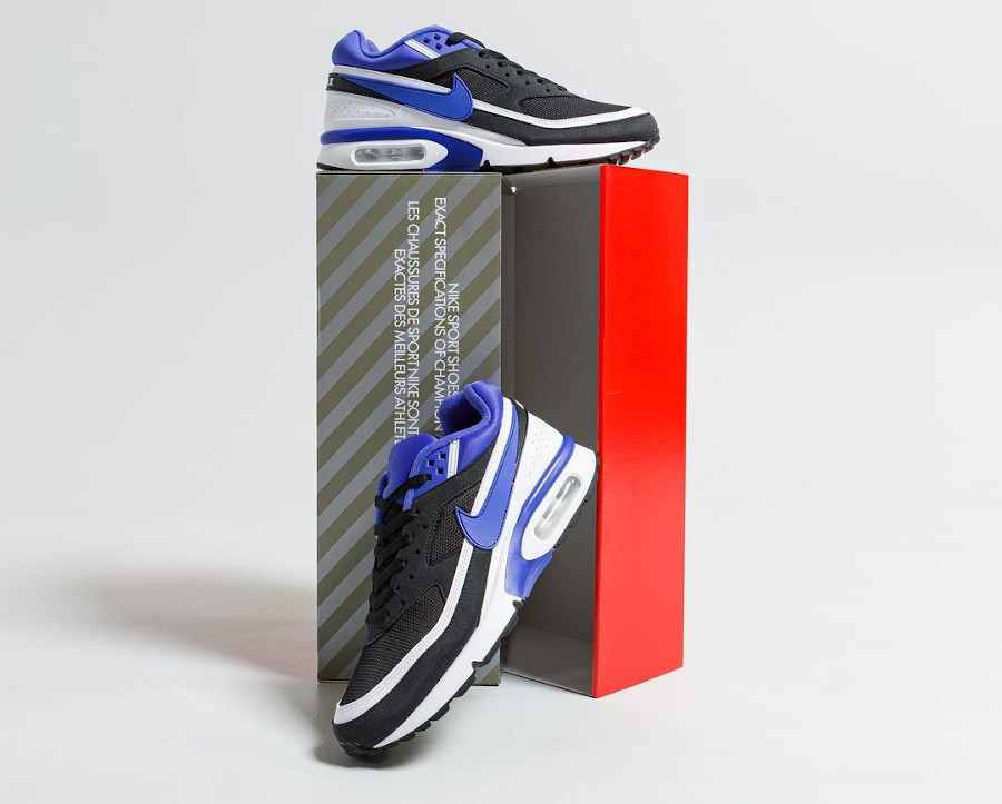 Nike Air Max BW noire et violette 30th Anniversary (1)