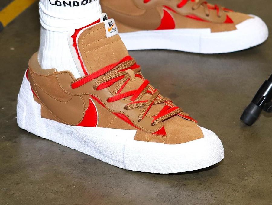 Nike Blazer Low Sacai Lebron James (2)