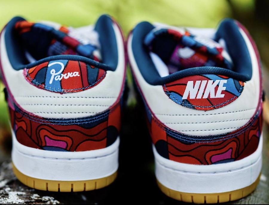Nike Dunk Low SB Pro paysage abstrait (1)
