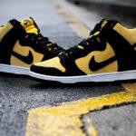 Nike Dunk High SB Pro Maize and Black (Reverse Goldenrod Iowa)