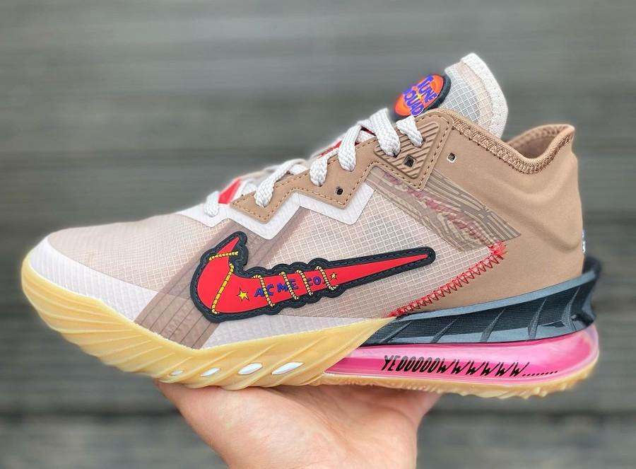 Nike Lebron 18 Low Bip Bip et Coyote (5)