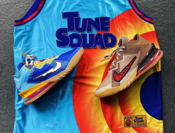 Nike Lebron 18 Low Bip Bip et Coyote (couv)