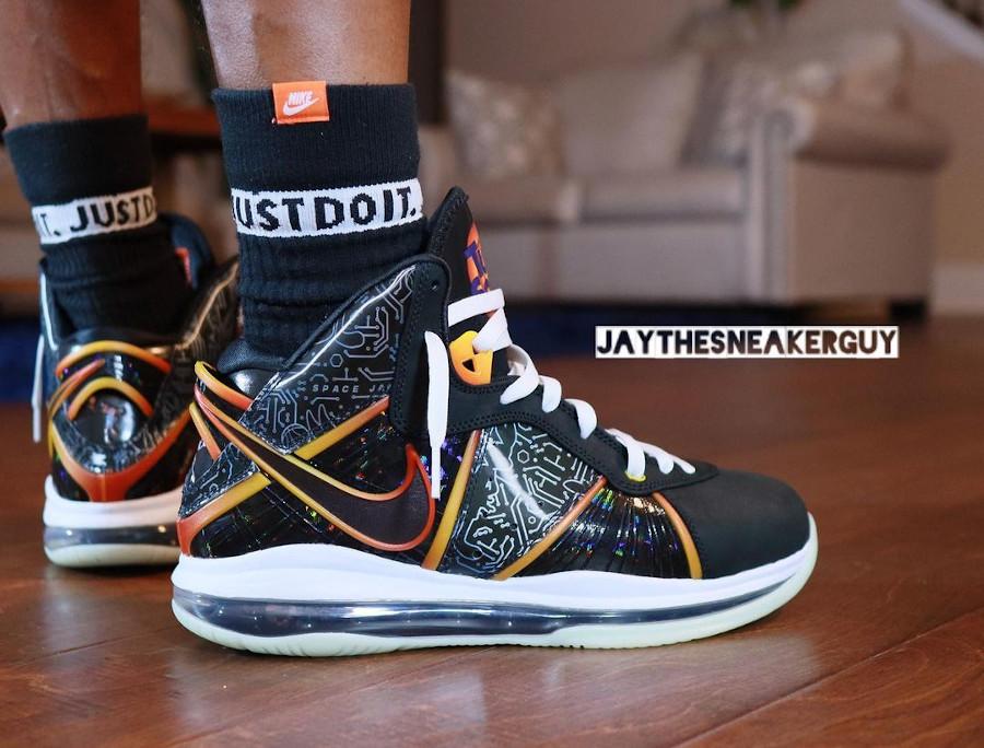 Nike Lebron 8 QS Space Jam 2 Tune Squad on feet DB1732-001
