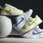 Nike Dunk Low Wmns Purple Pulse & Yellow Strike
