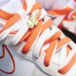 Nike Wmns Dunk High First Use White Sail Orange