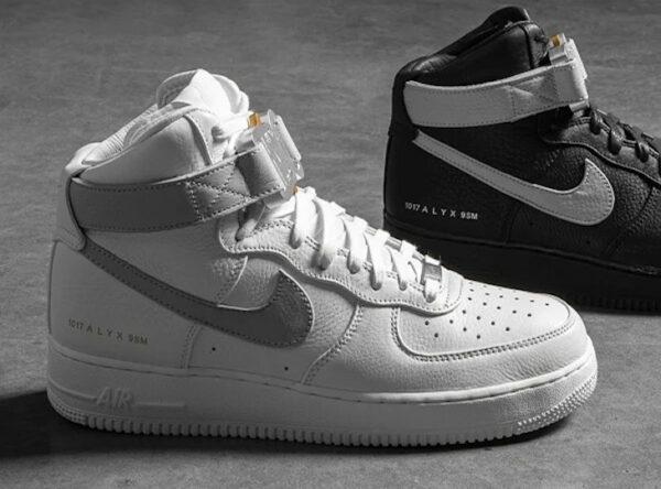 Nike x 1017 ALYX 9SM AF1 High Wolf Grey & Black