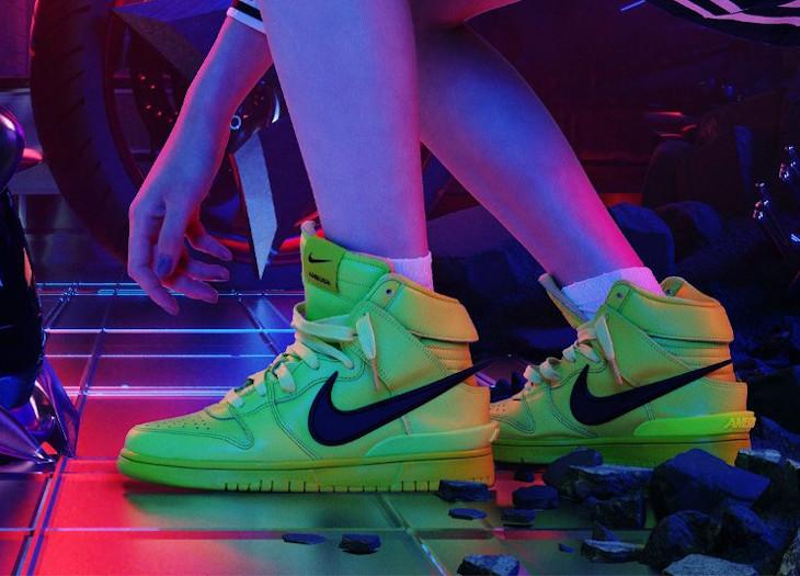 Nike x Ambush Dunk High Yoon Anh Flash Lime Akira