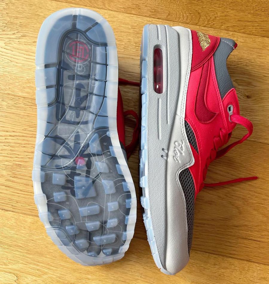 Nike x Clot AM1 KOD Solar Red 2021 (Kanye West)
