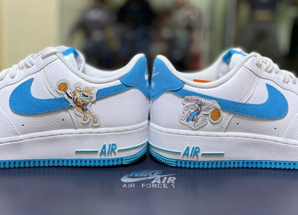 Nike x Space Jam 2 AF1 Hare Tune Squad Bugs Lola Bunny