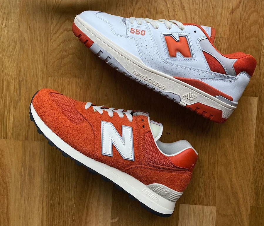 Size x New Balance 550 & 574 College Pack