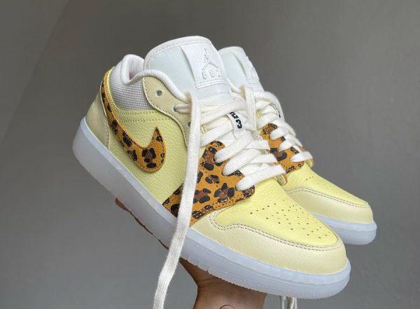 AJ1 Low Snkrs Day 8821 Got Em Leopard Cheetah DN6998-700 (couv)