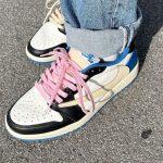 Travis Scott x Fragment Design x Air Jordan 1 Low Sail
