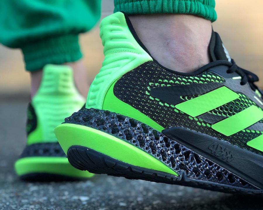 Adidas 4DFWD Pulse noire et verte (1)