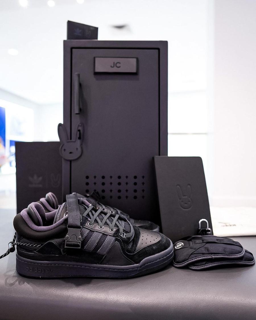 Adidas Forum BB toute noire (2)