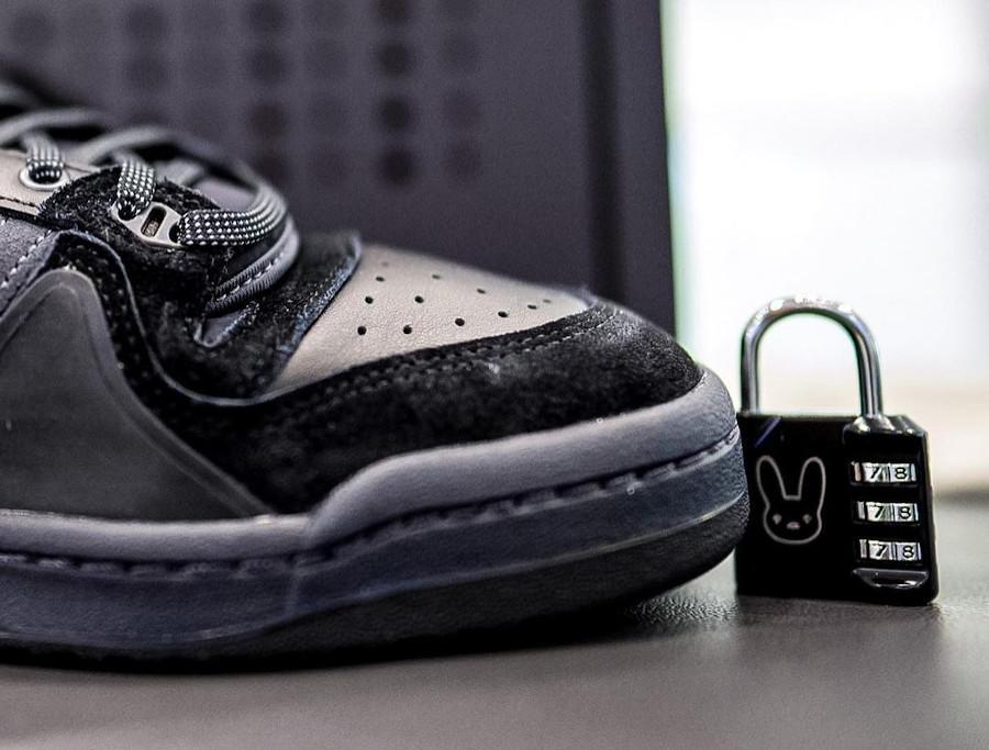 Adidas Forum BB toute noire (3)