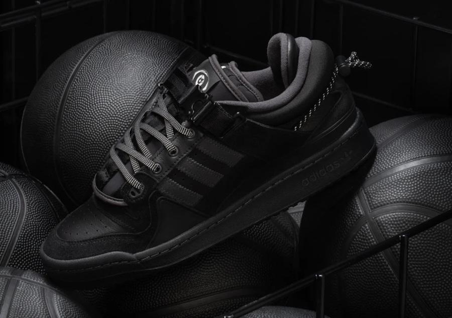 Adidas Forum BB toute noire (4)