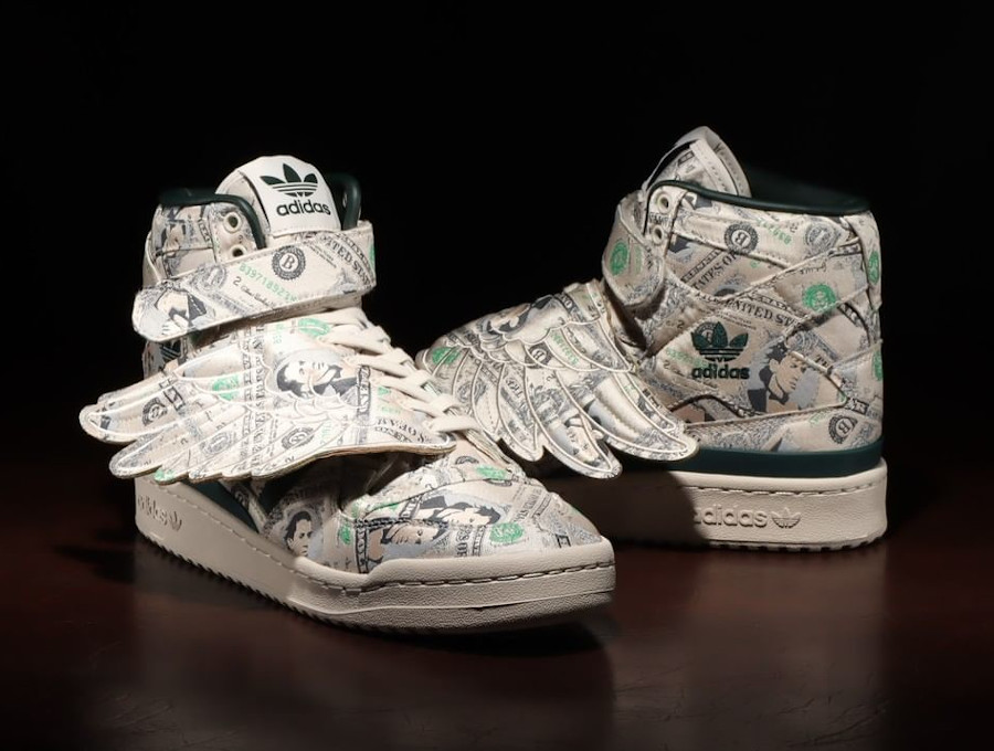 Adidas JS Wing 1 Clear Brown Green Night (2)