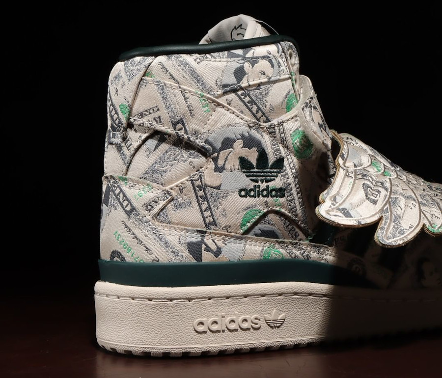 Adidas JS Wing 1 Clear Brown Green Night (4)