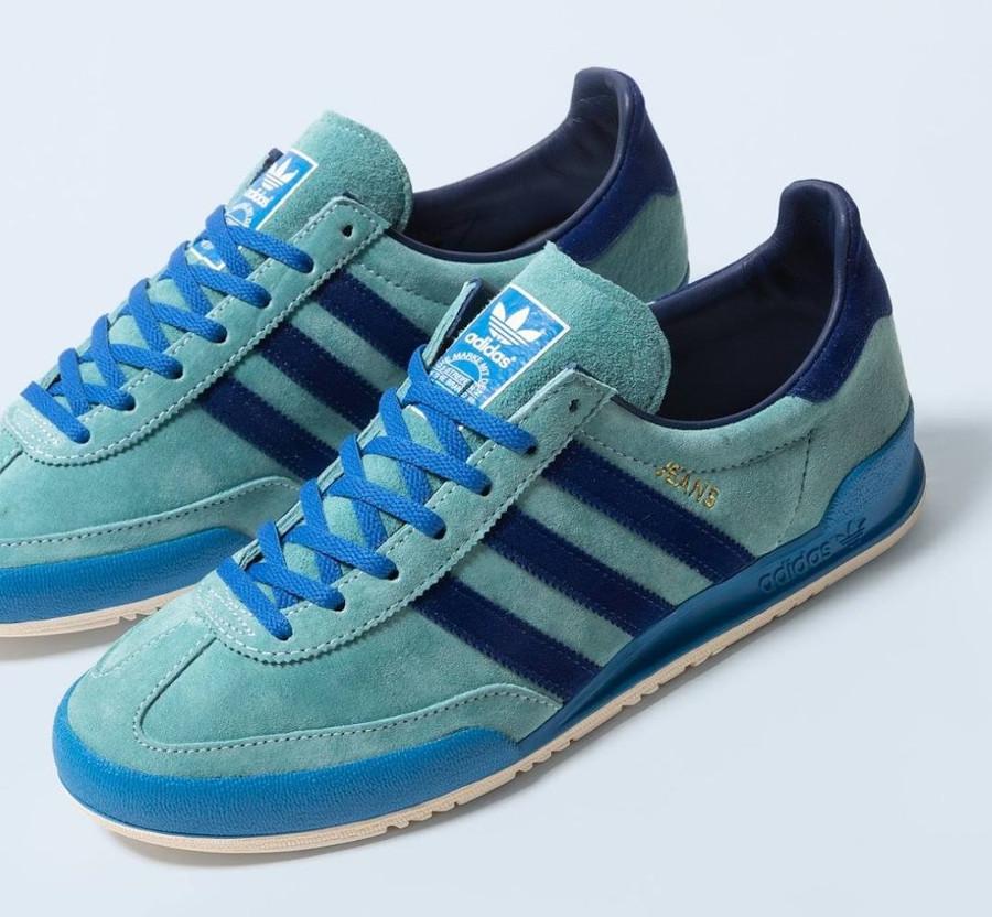 Adidas Jeans 21 bleue et verte (2)