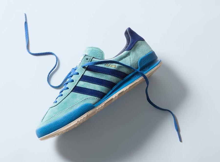 Adidas Jeans 21 bleue et verte (3)
