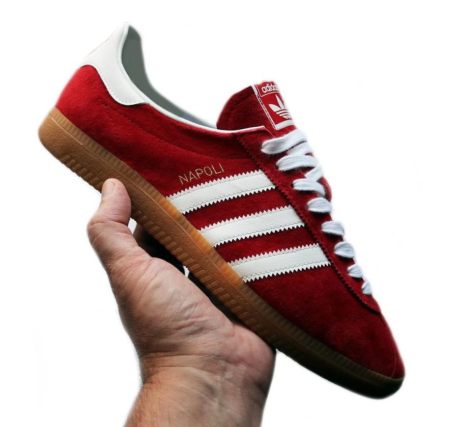 Adidas Naple rouge et gomme (2)