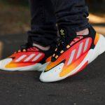 Adidas Ozelia Black Orange