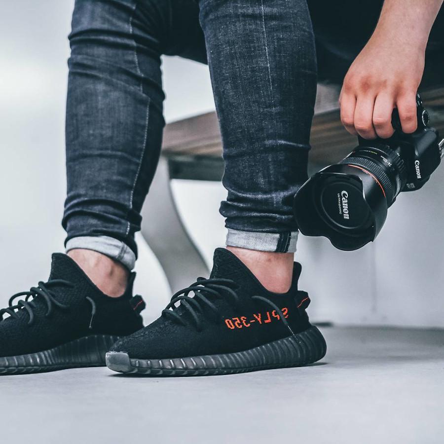 Adidas Yeezy 350 Boost V2 Black - @bylimitless