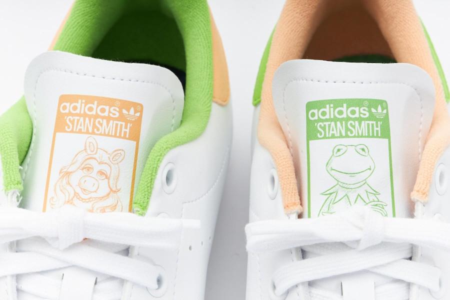 Adidas x Disney Stan Smith Kermit The Frog Miss Piggy GZ5996