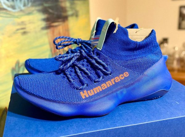Adidas x Pharrell Williams Humanrace Sichona PW Royal Blue Easy Coral Clear Aqua