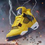 Air Jordan 4 Retro 'Lightning' Tour Yellow 2021