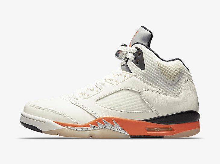 Air Jordan 5 Retro Orange Blaze