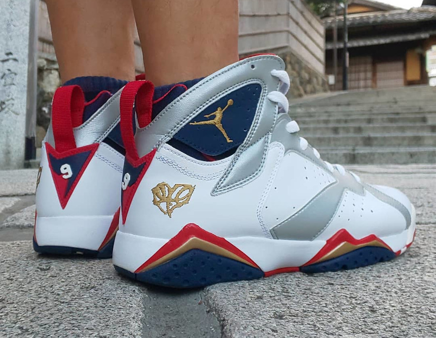 Air Jordan 7 Retro Olympic For the love of the game