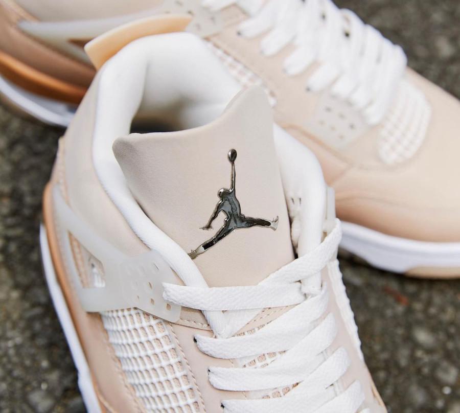 Air Jordan IV beige et marron pour femme (2027)