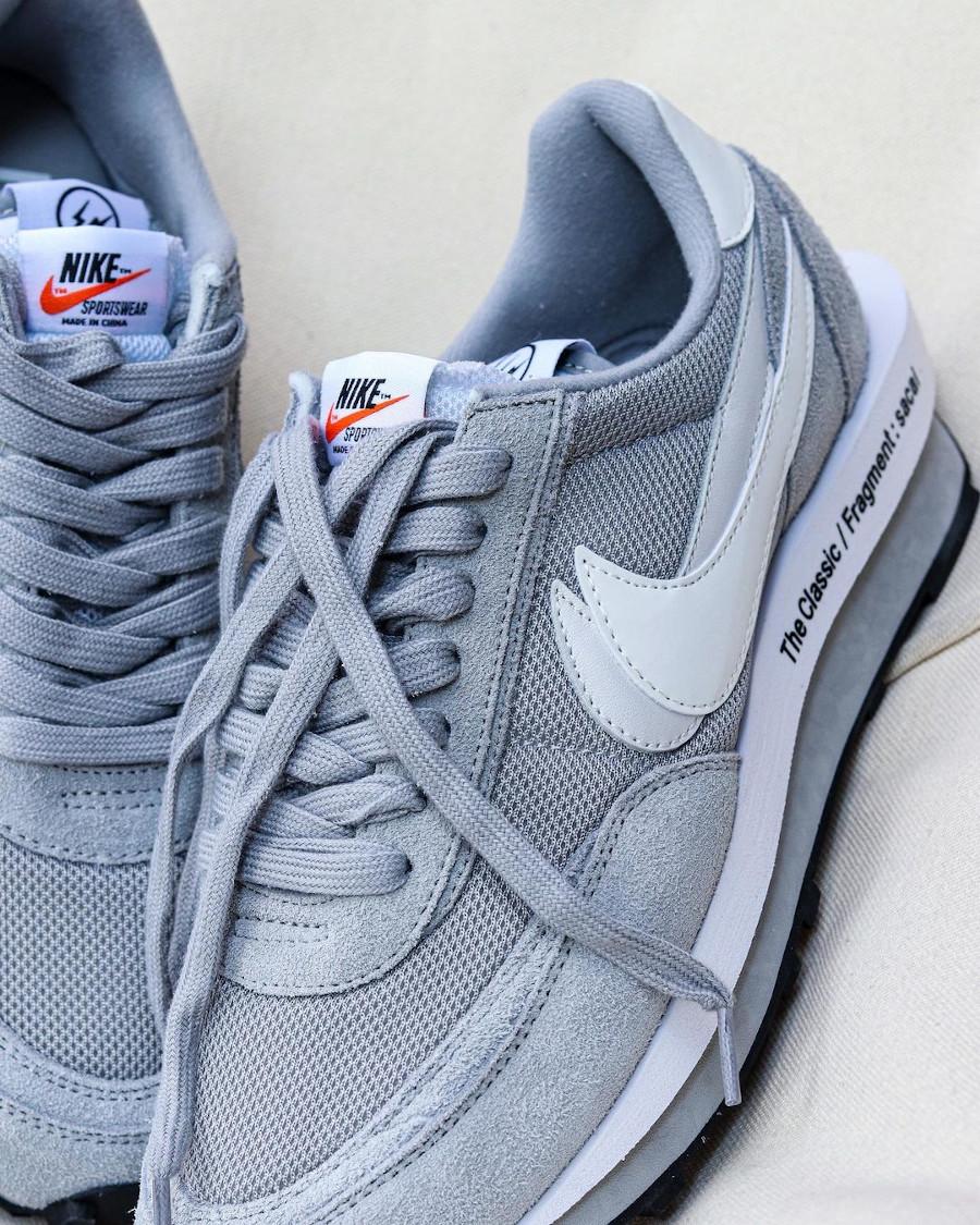 Chitose Abe x Hiroshi Fujiwara x Nike LDWaffle grise (2)